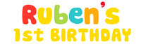 Ruben's 1st Birthday